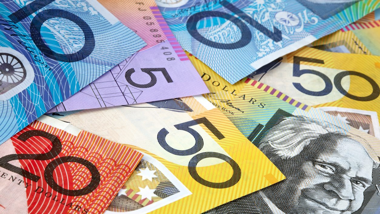 Australian money, in full-frame.  Fifty, twenty, ten and five dollar notes.  More Australian money:  [url=http://www.istockphoto.com/my_lightbox_contents.php?lightboxID=1195608] [img]http://robynm.smugmug.com/photos/175523593-L.jpg [/img][/url]